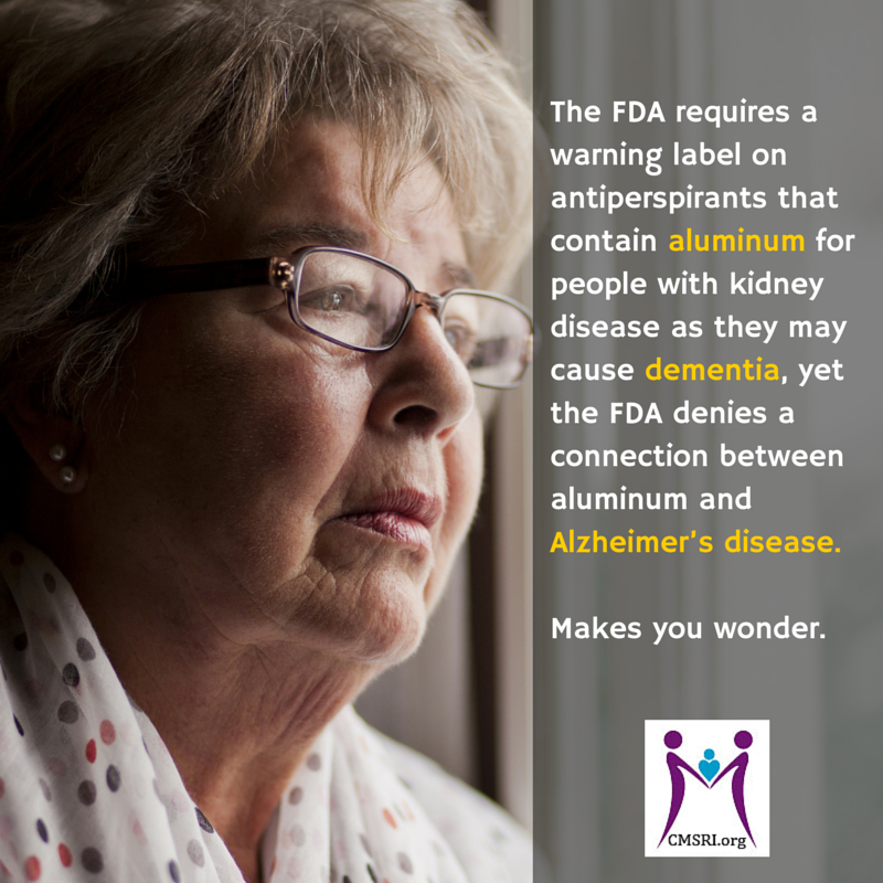 FDA and Aluminum warning for kidney disease patients